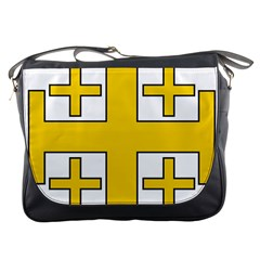 Jerusalem Cross Messenger Bags by abbeyz71