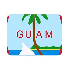 Seal Of Guam Double Sided Flano Blanket (mini)  by abbeyz71