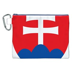 Slovak Air Force Roundel Canvas Cosmetic Bag (xxl) by abbeyz71