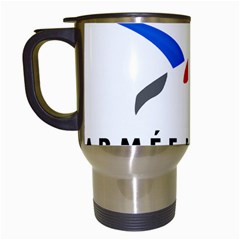 Logo of The French Air Force  Travel Mugs (White) by abbeyz71