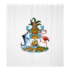 Coat of Arms of the Bahamas Shower Curtain 66  x 72  (Large)  by abbeyz71