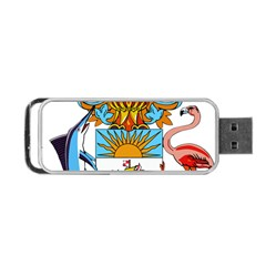 Coat of Arms of the Bahamas Portable USB Flash (Two Sides) by abbeyz71