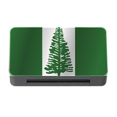 Flag Of Norfolk Island Memory Card Reader with CF
