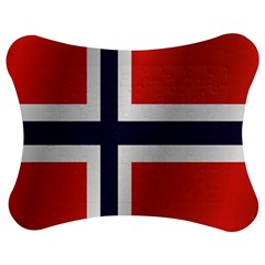 Flag Of Norway Jigsaw Puzzle Photo Stand (Bow) by artpics