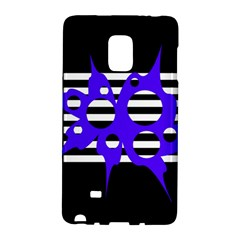Blue abstract design Galaxy Note Edge