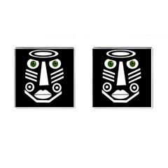 Mask Cufflinks (square) by Valentinaart