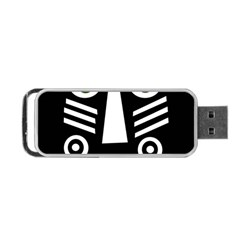 Mask Portable Usb Flash (two Sides) by Valentinaart