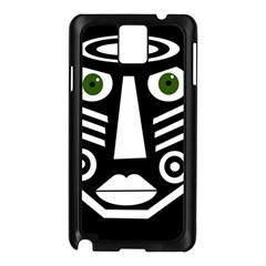 Mask Samsung Galaxy Note 3 N9005 Case (black) by Valentinaart