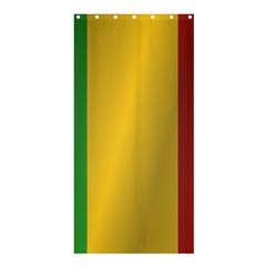 Flag Of Mali Shower Curtain 36  x 72  (Stall)  by artpics