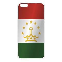Flag Of Tajikistan Apple Seamless iPhone 6 Plus/6S Plus Case (Transparent)