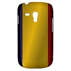 Flag Of Romania Samsung Galaxy S3 MINI I8190 Hardshell Case by artpics