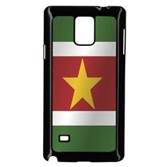 Flag Of Suriname Samsung Galaxy Note 4 Case (Black) by artpics