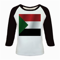 Flag Of Sudan Kids Baseball Jerseys by artpics