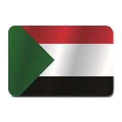 Flag Of Sudan Plate Mats by artpics