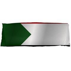 Flag Of Sudan Body Pillow Case (Dakimakura) by artpics