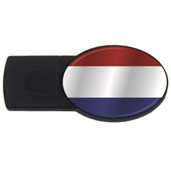 Flag Of Netherlands USB Flash Drive Oval (4 GB)  by artpics