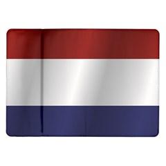 Flag Of Netherlands Samsung Galaxy Tab 10.1  P7500 Flip Case by artpics