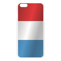 Flag Of Luxembourg Apple Seamless iPhone 6 Plus/6S Plus Case (Transparent) by artpics