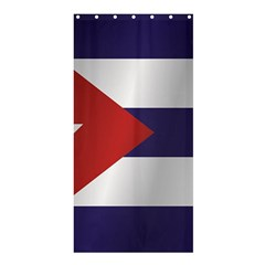 Flag Of Cuba Shower Curtain 36  x 72  (Stall)  by artpics