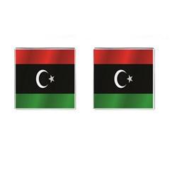 Flag Of Libya Cufflinks (Square) by artpics