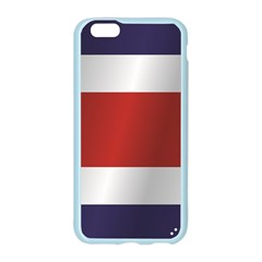 Flag Of Costa Rica Apple Seamless iPhone 6/6S Case (Color) by artpics
