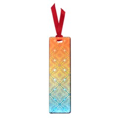Ombre Fire And Water Pattern Small Book Marks by TanyaDraws