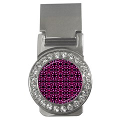 Dots Pattern Pink Money Clips (cz)  by BrightVibesDesign