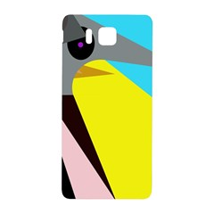 Angry Bird Samsung Galaxy Alpha Hardshell Back Case by Valentinaart