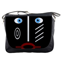 Decorative Mask Messenger Bags by Valentinaart