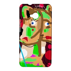 Abstract animal HTC One M7 Hardshell Case