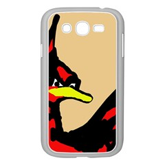 Angry Bird Samsung Galaxy Grand DUOS I9082 Case (White)