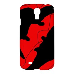 Black and red lizard  Samsung Galaxy S4 I9500/I9505 Hardshell Case