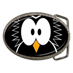 Black owl Belt Buckles by Valentinaart