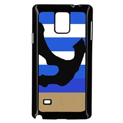 Anchor Samsung Galaxy Note 4 Case (black) by Valentinaart
