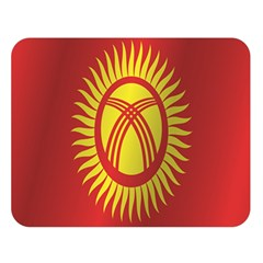 Flag Of Kyrgyzstan Double Sided Flano Blanket (Large)  by artpics