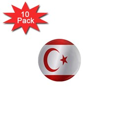 Flag Of Northern Cyprus 1  Mini Magnet (10 pack)  by artpics
