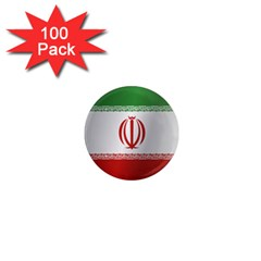 Flag Of Iran 1  Mini Magnets (100 pack)  by artpics