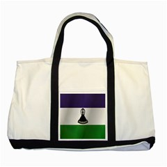 Flag Of Lesotho Two Tone Tote Bag by artpics