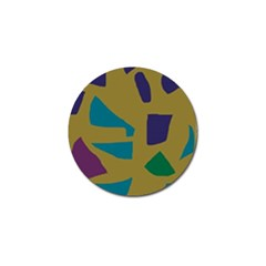 Colorful Abstraction Golf Ball Marker (10 Pack) by Valentinaart
