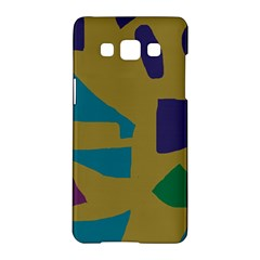 Colorful abstraction Samsung Galaxy A5 Hardshell Case  by Valentinaart