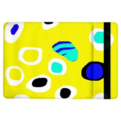 Yellow Abstract Pattern Ipad Air Flip by Valentinaart