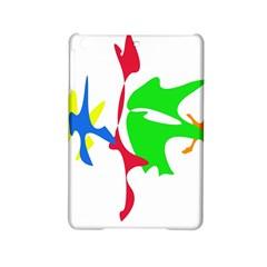 Colorful amoeba abstraction iPad Mini 2 Hardshell Cases by Valentinaart