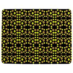 Dots Pattern Yellow Jigsaw Puzzle Photo Stand (rectangular) by BrightVibesDesign