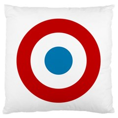 Roundel Of The French Air Force  Standard Flano Cushion Case (two Sides) by abbeyz71