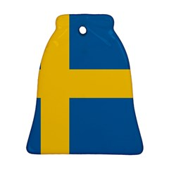 Flag of Sweden Bell Ornament (2 Sides) by abbeyz71