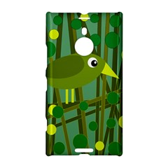 Cute Green Bird Nokia Lumia 1520 by Valentinaart