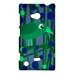 Green And Blue Bird Nokia Lumia 720 by Valentinaart