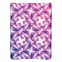 Purple Shatter Geometric Pattern Ipad Air Hardshell Cases by TanyaDraws