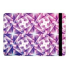 Purple Shatter Geometric Pattern Samsung Galaxy Tab Pro 10 1  Flip Case by TanyaDraws