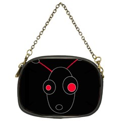 Red alien Chain Purses (One Side)